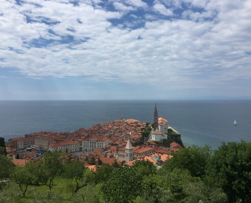 Piran from the City walls